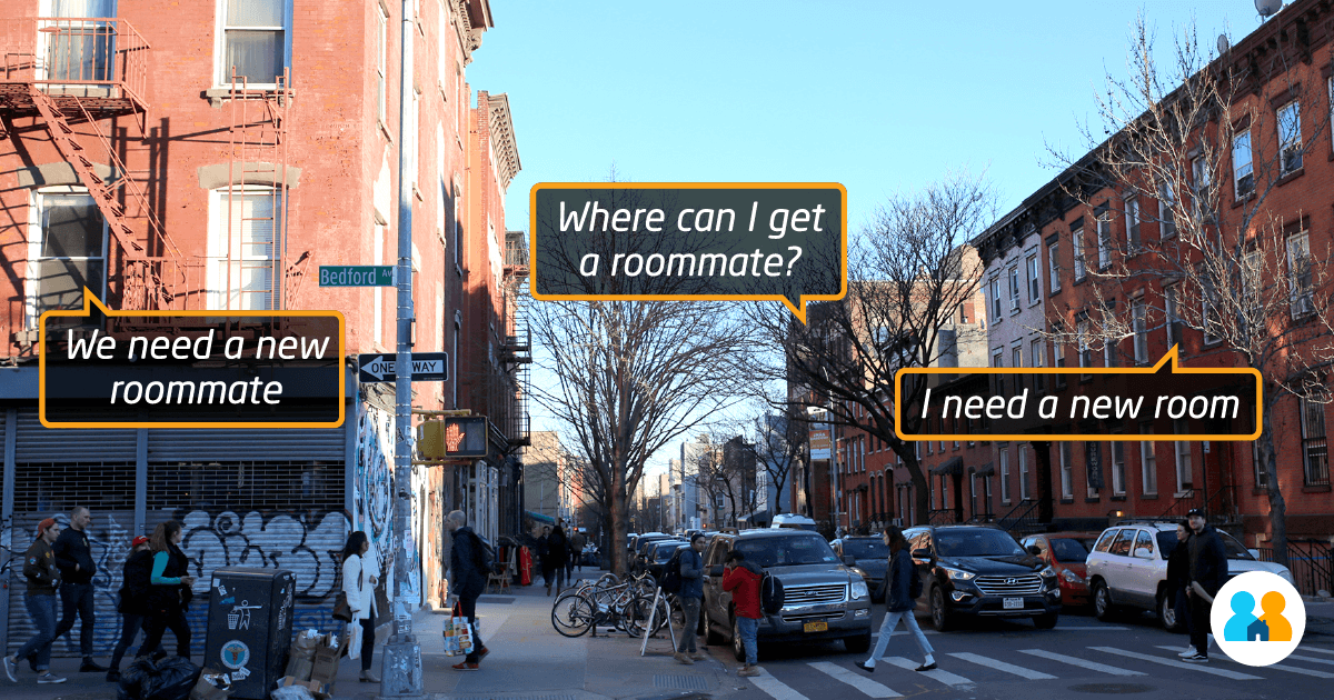 Over 36k New Yorkers are looking for rooms, right now!